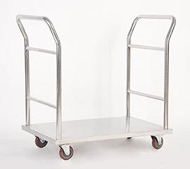 不锈钢双向小推车