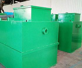 工厂地埋式污水处理设备