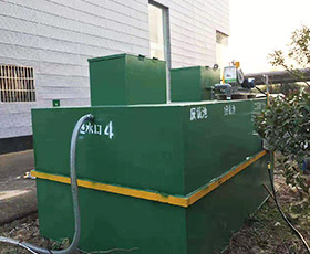 生活地埋式污水处理设备
