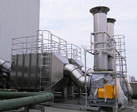炼钢铁厂废气处理